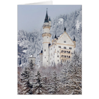 Neuschwanstein Castle Card