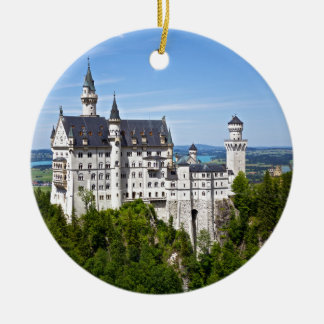 Neuschwanstein Castle Ceramic Ornament