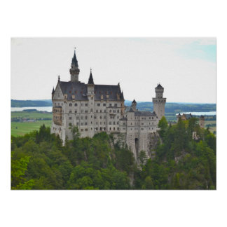 Neuschwanstein Castle from the Bridge Poster