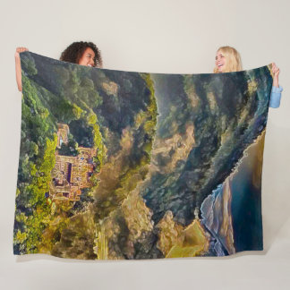 Neuschwanstein Castle, Germany Acrylic Art Fleece Blanket