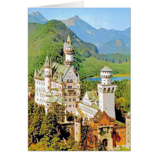 NEUSCHWANSTEIN CASTLE, GERMANY CARD
