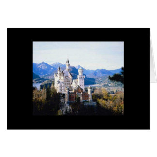 Neuschwanstein Castle Germany Card