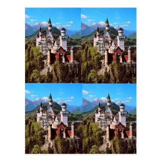 neuschwanstein castle - germany DREAM BIG! Postcard