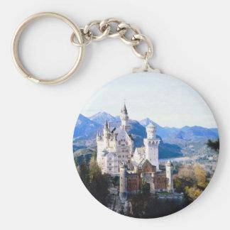 Neuschwanstein Castle Germany Keychain