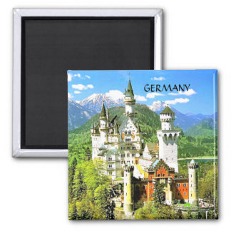 NEUSCHWANSTEIN CASTLE, GERMANY MAGNET