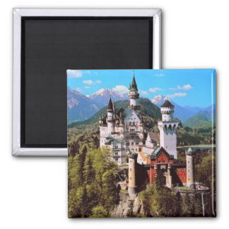 neuschwanstein castle - germany magnet