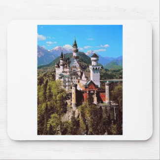neuschwanstein castle - germany mouse pad