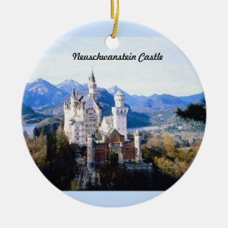 Neuschwanstein Castle Germany  Ornament