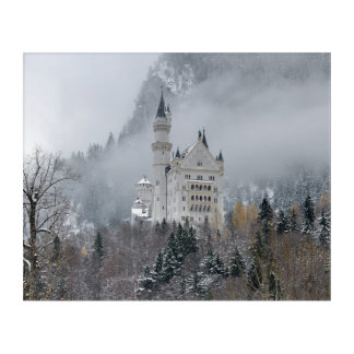 Neuschwanstein castle in Bavaria, Germany Acrylic Wall Art