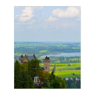 Neuschwanstein Castle in Bavaria Germany Acrylic Wall Art
