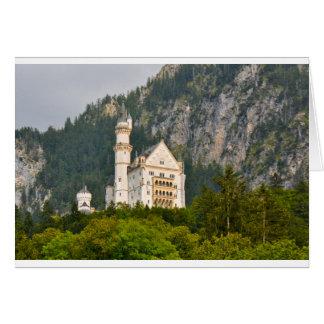 Neuschwanstein Castle in Bavaria Germany Card
