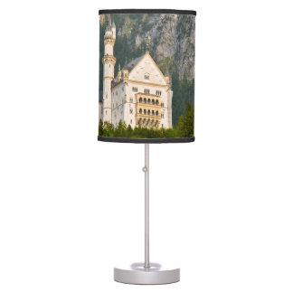 Neuschwanstein Castle in Bavaria Germany Desk Lamp