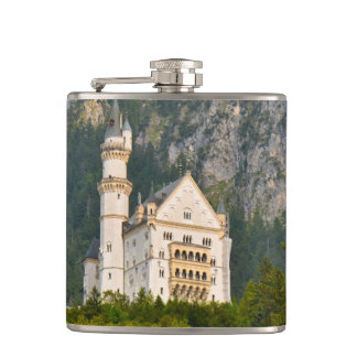 Neuschwanstein Castle in Bavaria Germany Flasks