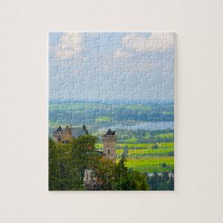 Neuschwanstein Castle in Bavaria Germany Jigsaw Puzzle