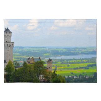 Neuschwanstein Castle in Bavaria Germany Placemat