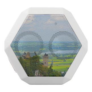 Neuschwanstein Castle in Bavaria Germany White Bluetooth Speaker