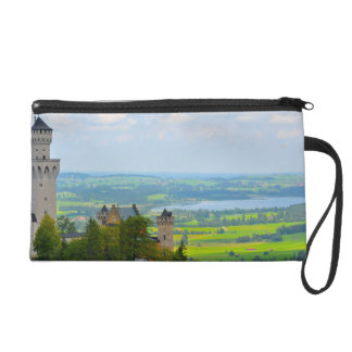 Neuschwanstein Castle in Bavaria Germany Wristlet
