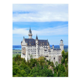 neuschwanstein castle postcard