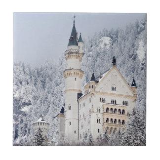 Neuschwanstein Castle Tile