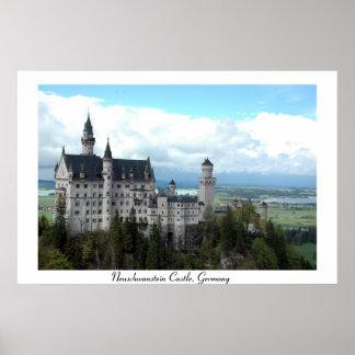 Neuschwanstien Castle in Bavaria Poster