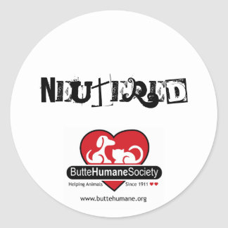Neutered Sticker