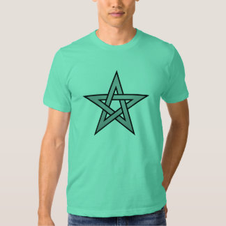 Neutral Color Pentagram T-shirts