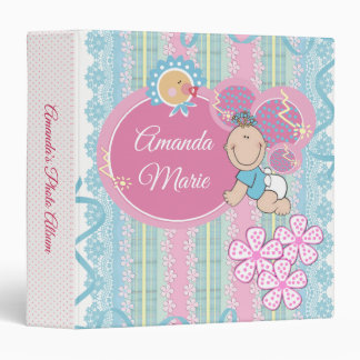 Neutral Gender Baby Photo Album Binder