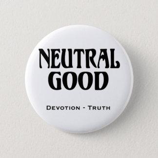 """""""Neutral Good"""" 2 Inch Round Button"""