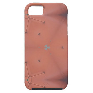 Neutral Peach Abstract Pattern iPhone 5 Case