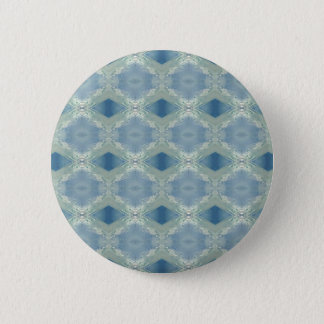 Neutral Shades of Blue Gray Pattern 2 Inch Round Button