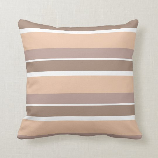 Neutral Stripes Pillow
