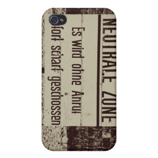 Neutral Zone iPhone 4/4S Cover