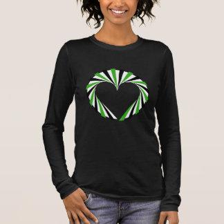 Neutrois/Agender Pride Heart Long Sleeve T-Shirt