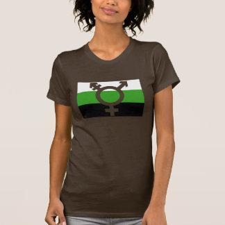 Neutrois Flag Cutout T-Shirt