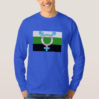 Neutrois Flag Trans Symbol T-Shirt