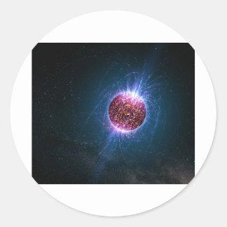 Neutron Sticker Rond