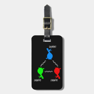 Neutron Quark Duck Luggage Tag