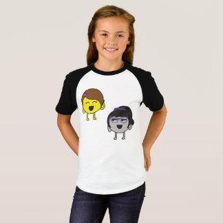 Neutrona and Protona on the phone T-Shirt