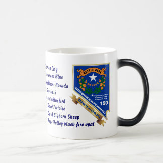Nevada 150th anniversary View About Design Below 11 Oz Magic Heat Color-Changing Coffee Mug