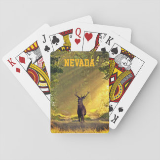 Nevada Buck Deer Poker Deck