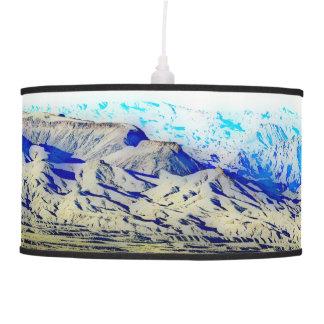 Nevada - California State Line Tripod Lamp
