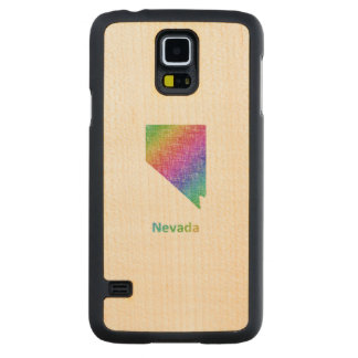 Nevada Carved Maple Galaxy S5 Case