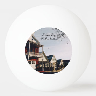 Nevada City Old Fire Station Ping Pong Ball