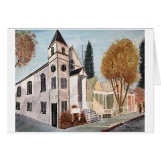 NEVADA CITY SCENES - WATERCOLOR CARD