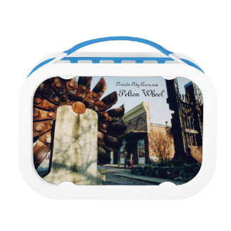 Nevada City Tours California Pelton Wheel & Broad Lunch Box