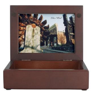 Nevada City Tours Gold Rush Souvenir Keepsake Box