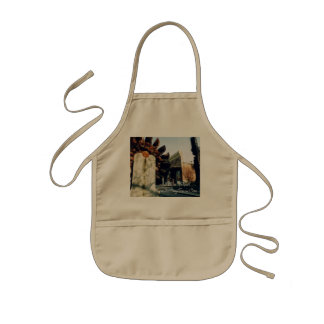 Nevada City Tours Gold Rush Souvenir Kids Apron