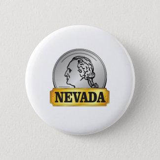 nevada coin 2 inch round button