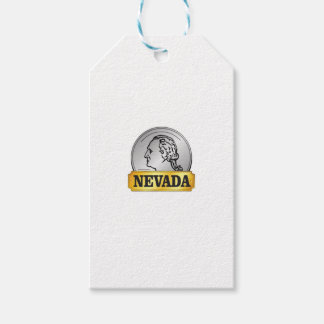 nevada coin gift tags