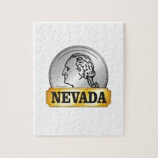 nevada coin jigsaw puzzle